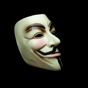 image of Guy Fawkes mask